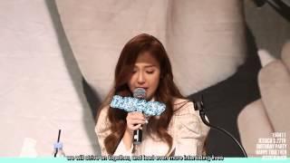 [ENG SUB] 150411 Jessica