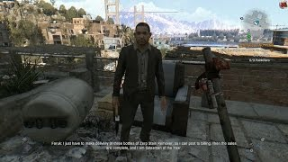 Dying Light - Protect Faruk Korkmaz (The Salesman of the Year) Gameplay PC