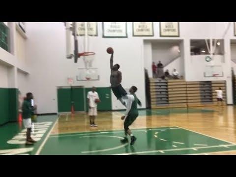 Marcus Smart dunks on Jayson Tatum during 1-on-1 drill | ESPN