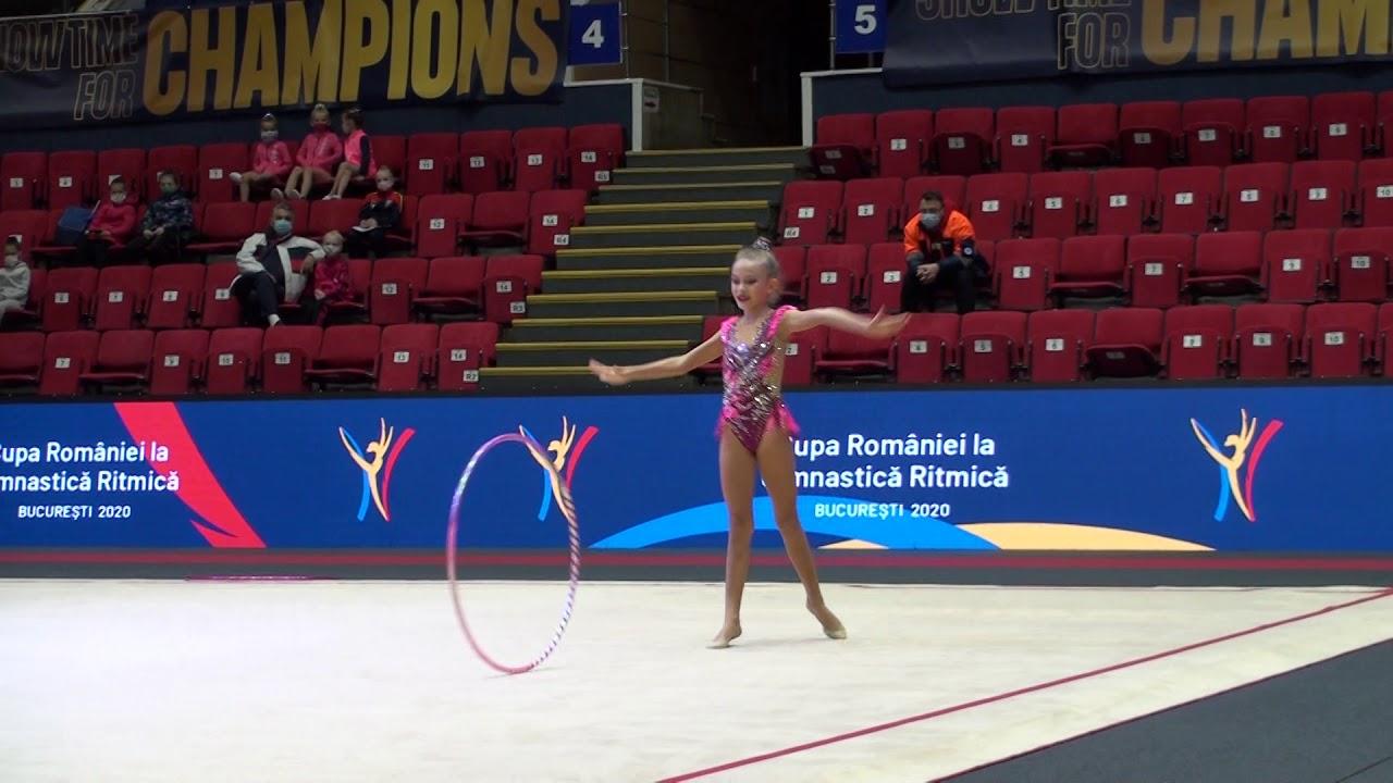 Amalia Banciu   CS Victoria Cumpana   Hoop   Cupa Romaniei 2020