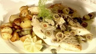 Watch Recipe: Pan-seared Fish In White Wine Sauce