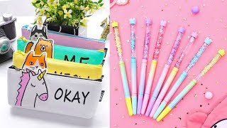 DIY School Supplies! 8 Weird DIY Crafts for Back to School with DIY Lover!