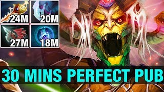 30 MINS PERFECT PUB - Ah Jit 7.5K MMR Plays Medusa 24/0 - Dota 2