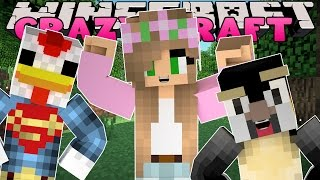 Minecraft: CRAZY CRAFT 3.0 - FINDING THE ATLANTIC CRAFTS SECRET BASE!