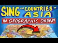 """Countries of Asia Song - From """"Tap the World!"""""""