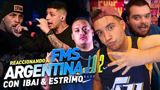 Download IBAI ESTRIMO Y KAPO REACCIONANDO A FMS ARGENTINA J02 *La fms Argentina es una locura* *EPICARDOOO*