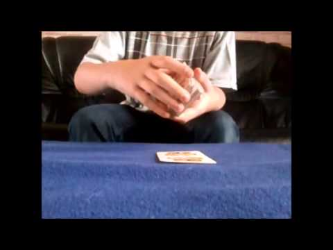 tour de magie carte pensee