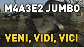 World of Tanks || M4A3E2 - Veni, Vidi, Vici
