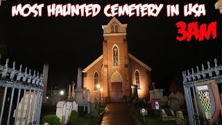 THE HAUNTED CEMETERY OF LEWIS DELAWARE THE MOST HAUNTED CEMETERY IN USA (3AM)