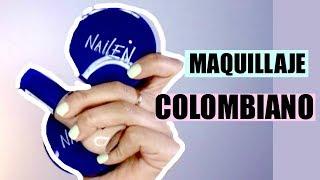 LOOK CON MAQUILLAJE COLOMBIANO!♡ | Mariana Herrera