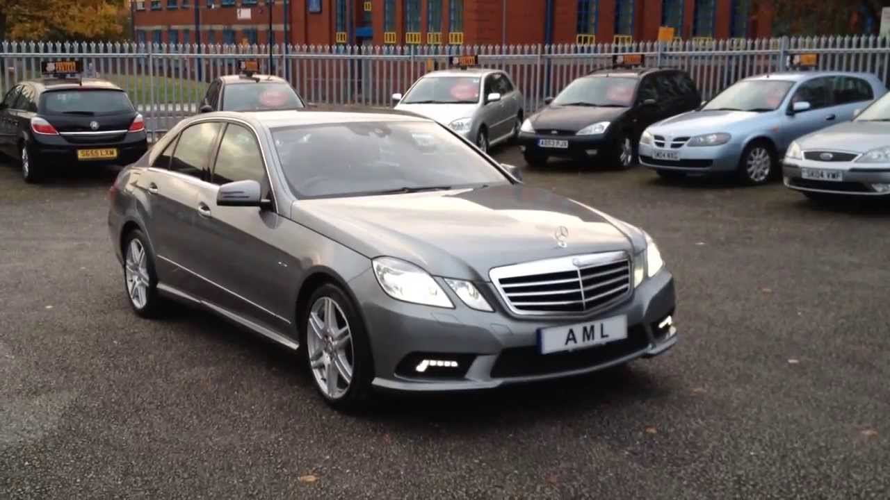 2010 10 Mercedes Benz E Class E350 Cdi Blueefficiency Amg
