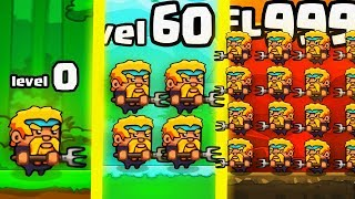 IS THIS THE STRONGEST HIGHEST LEVEL SHORTIES ARMY EVOLUTION? (9999+ STACKING) l Shorties's Kingdom