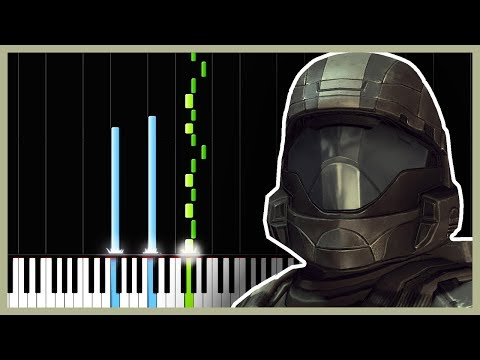 Another Rain - Halo 3: ODST [Piano Tutorial] (Synthesia) // DS Music