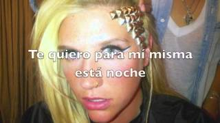 @Kesha - Only Wanna Dance With You (Traducida al español  / Subtitulada)