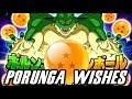 Porunga Wish Translations - DBZ Dokkan Battle