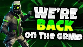 💯Fortnite Battle Royale-WERE BACK!!! (Getting used to the game again)💯