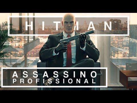 ASSASSINO PROFISSIONAL, O VERDADEIRO | HITMAN - Gameplay do Início, em Português
