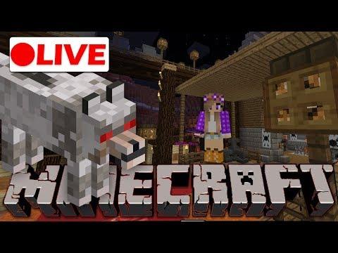 🔴 Minecraft Live Stream |Releasing Mesa Village in MoleCraft!