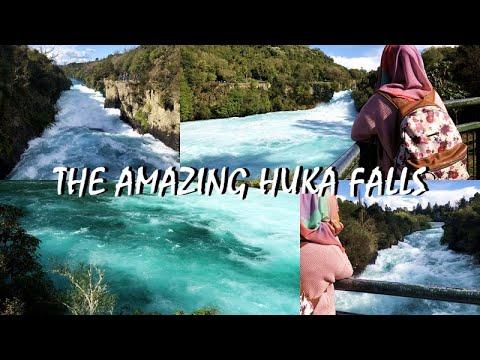 NZ VLOG #5 : The Unbelievably Amazing Huka Falls  | Day 2