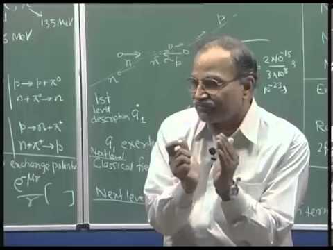 Mod-01 Lec-16 Theories of nuclear forces
