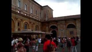 Италия, Рим, музей Ватикана(Италия, Рим с экскурсией в музей Ватикана., 2013-04-20T09:38:49.000Z)