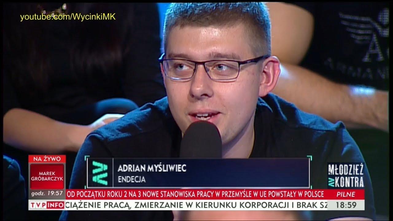 Młodzież kontra 613: Adrian Myśliwiec (Endecja) vs prof. Andrzej Zybertowicz 14.10.2017