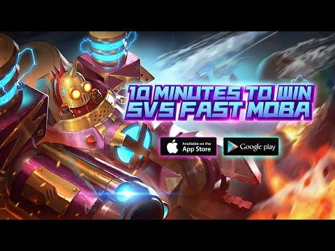 【Legend of ACE】 - 5v5 Fast Mobile MOBA - Dr.Plasma  MAX