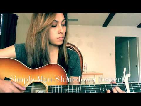Simple Man-Shinedown (Cover By Tiffany Andrus
