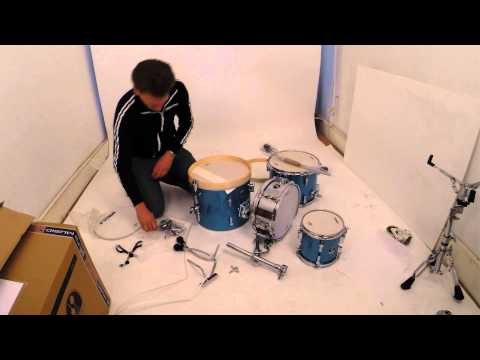 Sonor Special Edition Safari kit unboxing