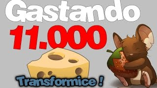 Gastando 11 000 Mil Morangos no Transformice (spending 11,000 strawberries in Transformice)