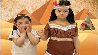 ميادة مع صديقتها الجديدة | Mayada and her twin