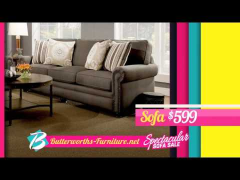 Butterworth's Furniture Sofa Sale 2017