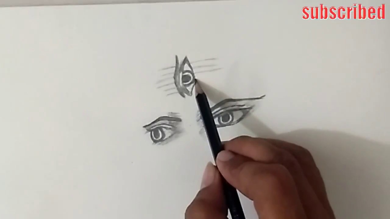 How To Draw Lord Shiva Drawing Step By Step Lord Shiva 3rd Eyes