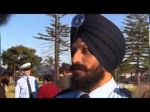 sikh police officer austrlaia
