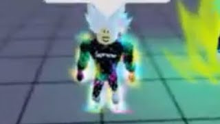 Roblox Dragon Ball Rage Super Saiyan White!!!