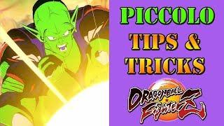 Dragon Ball Fighterz - Piccolo Tips & Tricks