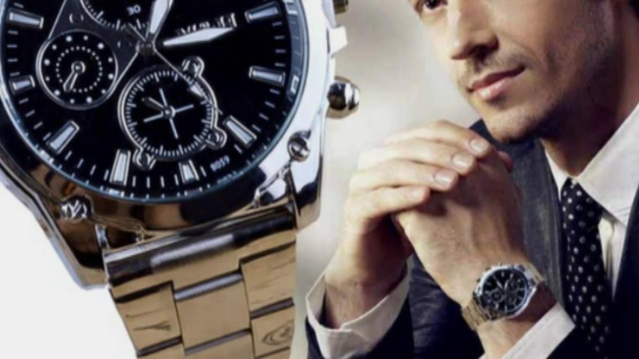7312b7091c0 Os relógios masculinos mais lindos do mundo. - YouTube