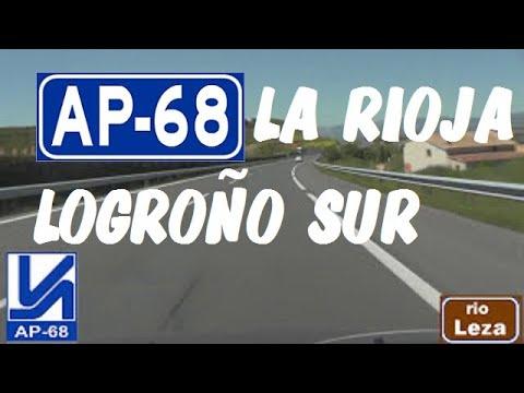AP-68 Autopista del Ebro , Zona Logroño Sur , La Rioja / Expressways in Spain