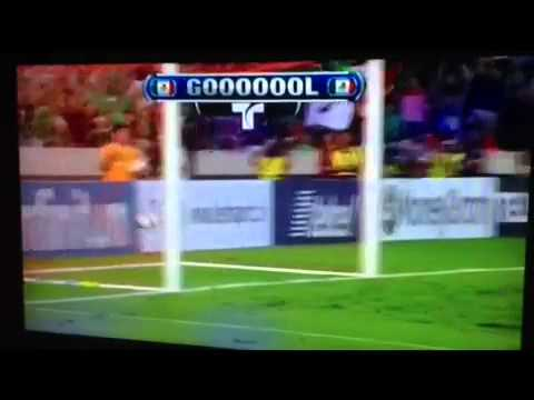 Mexico vs Guyana all goals (5-0) 10/12/12