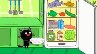 ТРИ КОТА Кулинария #5 Мультик Игра для Детей Помощь на кухне