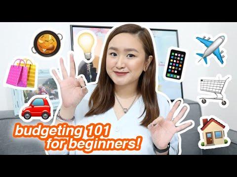 beginner's guide to budgeting + tips! | tita talks 🍵