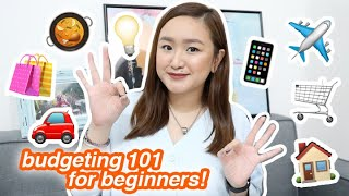 beginner's guide to budgeting + tips! | tita talks 🍵
