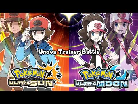 Pokémon Ultra Sun & Ultra Moon  Unova Trainer Battle Theme Remix