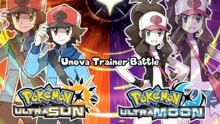 pokémon ultra sun ultra moon unova trainer battle theme remix
