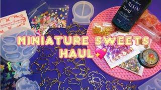 Miniature Sweets Haul 2020