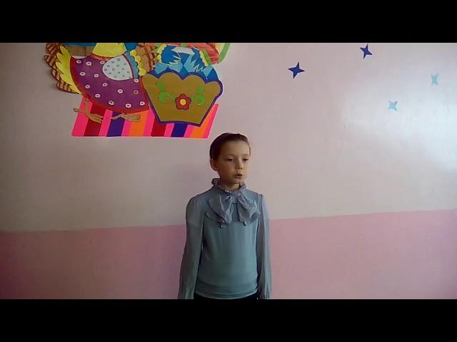 Изображение предпросмотра прочтения – ЕмельяноваВиктория читает произведение «Мартышка и очки» И.А.Крылова