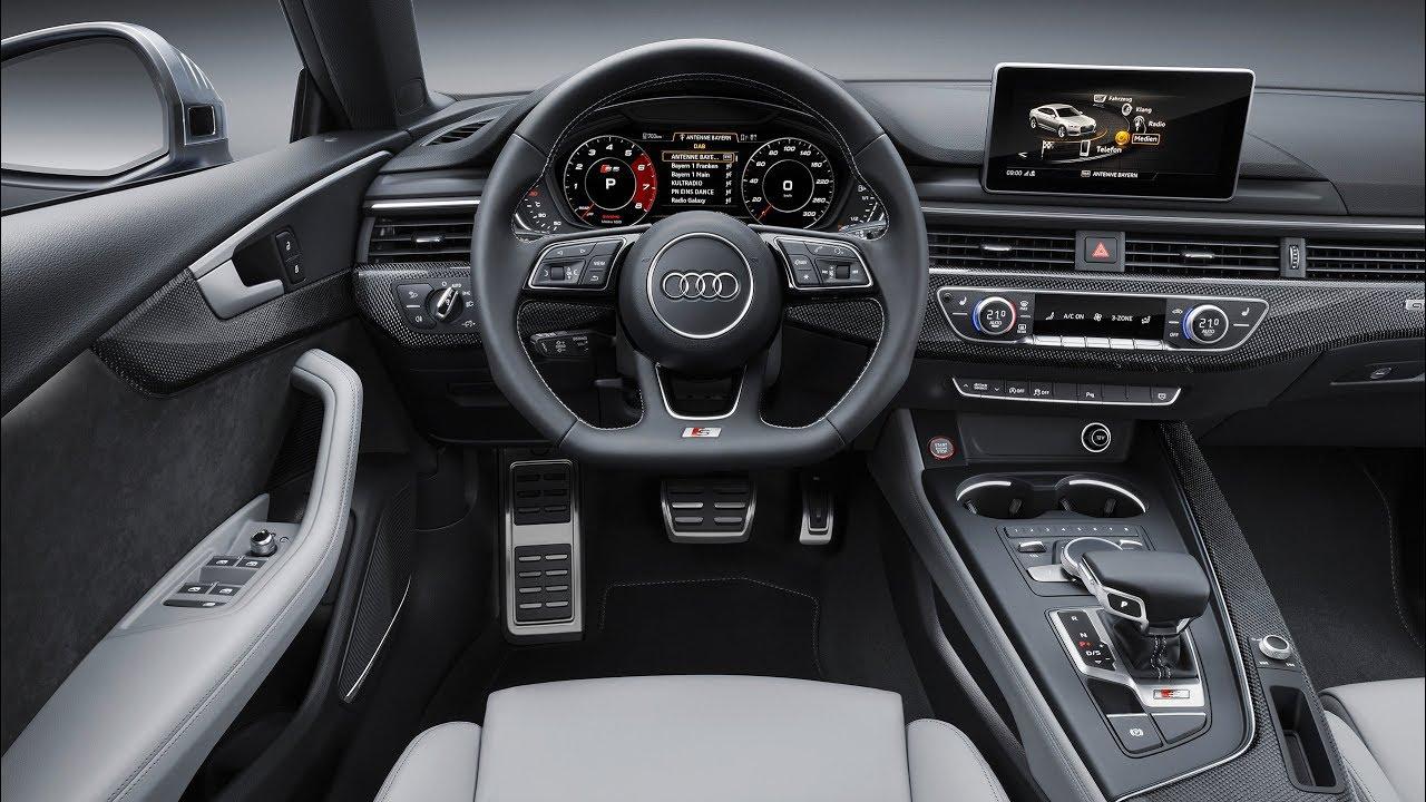 Audi S5 Sportback - Interior | 4K Video - YouTube