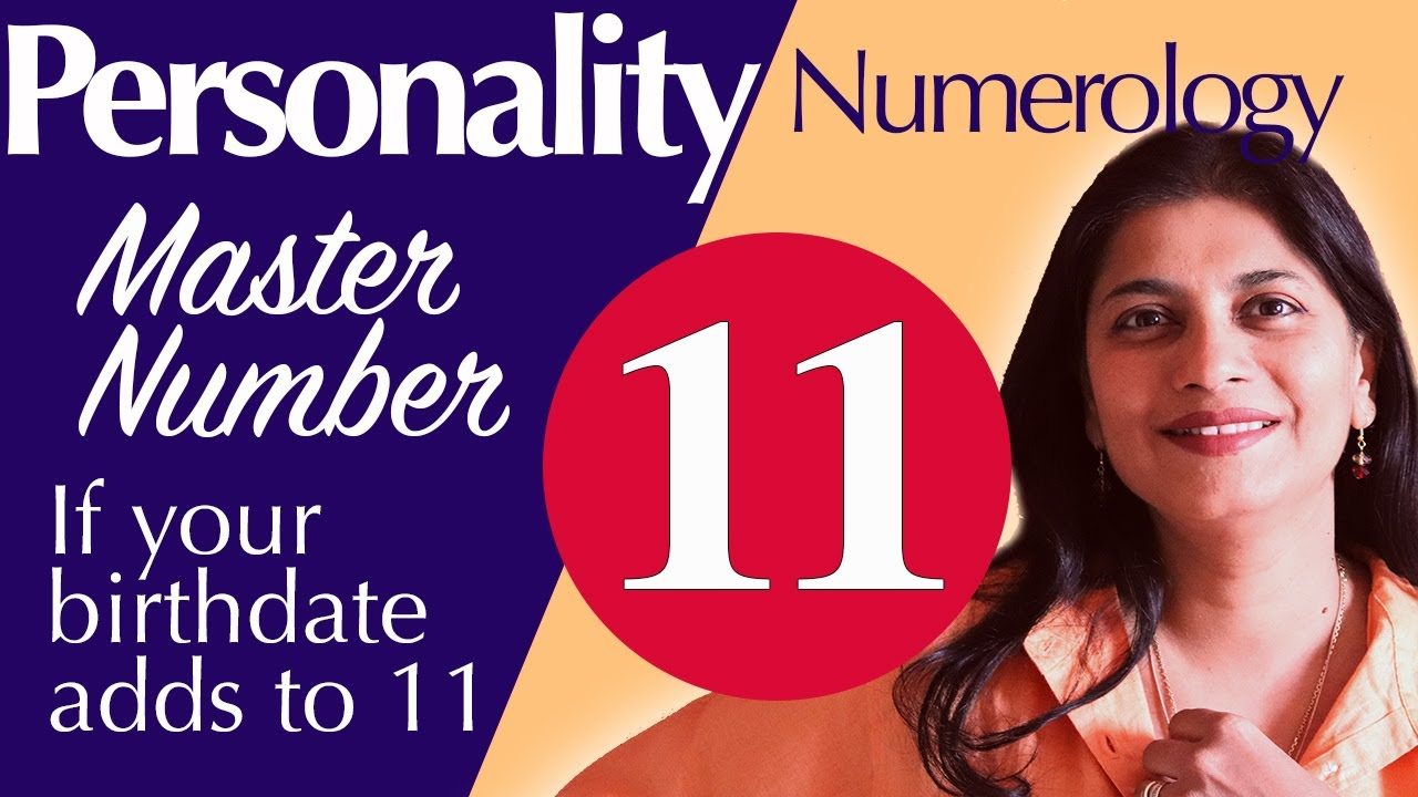 Numerology : master number 11 personality traits