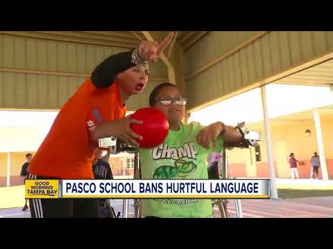 "Pasco elementary school bans hurtful ""R word"""