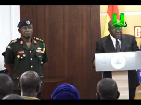 Prez. Akufo-Addo appoints Maj. Gen. Obed Boamah Akwa, as acting  CDS